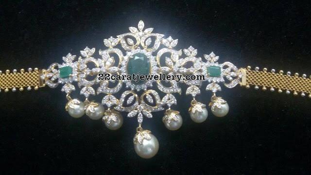 Opulent Diamond Choker 45 Grams