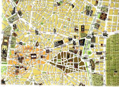 mapa madrid turismo