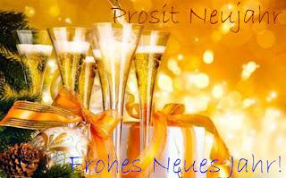 Neujahrssekt Frohes Neues Jahr 2019
