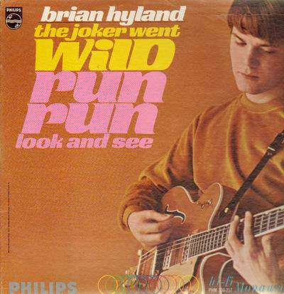 Brian Hyland - The Joker Went Wild / I Can Hear The Rain