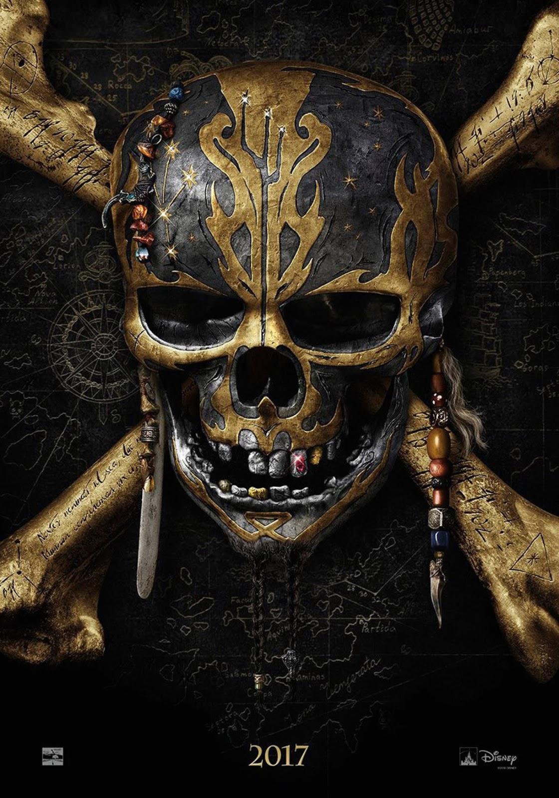 ตัวอย่างหนังใหม่ : Pirates of the Caribbean: Dead Men Tell No Tales (สงครามแค้นโจรสลัดไร้ชีพ) (ซับไทย) poster1