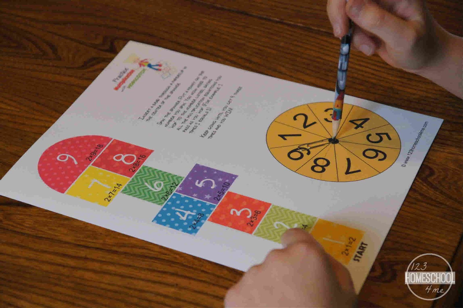 Practice multiplication facts with hopscotch hopscotch multiplication math game gamestrikefo Gallery