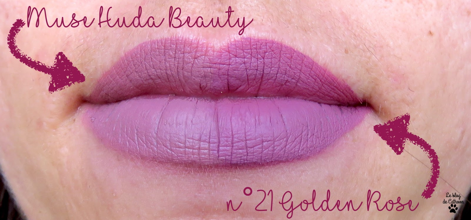 Muse d'Hude Beauty et n°21 de Golden Rose