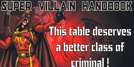 Crowdfunding News - Dr. Comics and The Super Villain Handbook
