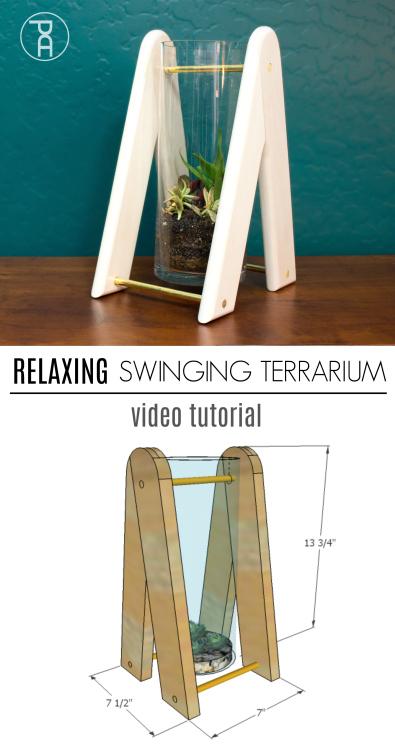 how to build make video tutorial glass succulent plant terrarium relax meditate