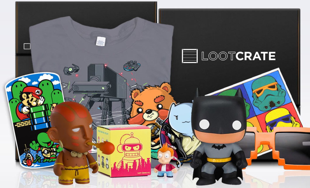 Here's $5 OFF your first Loot Crate!