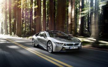 Wallpaper: BMW i8 Exhibition