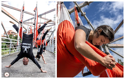 columpio, yoga, pilates, trapeze, hamac