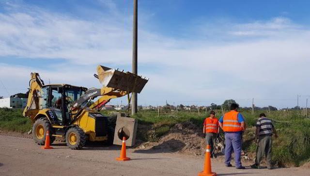 Obras públicas: realizan arreglos de sumideros y recambio de caños pluviales Desde la Secretaría de Planeamiento, Obras y Servicios ...