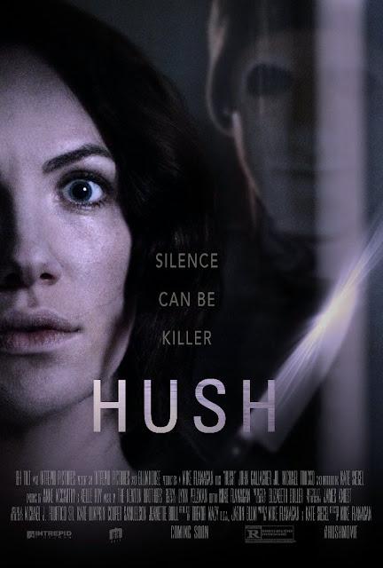 dica de filme suspense, resenha hush a morte ouve
