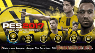 PES 2017 JOGRESS V2 ISO For Android Update Patch Terbaru + Savedata