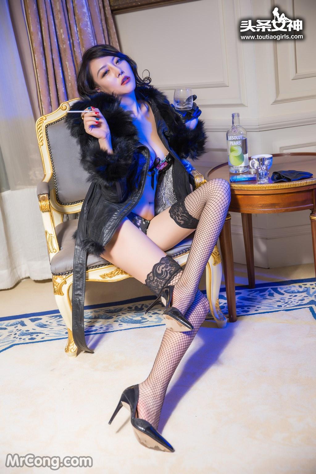 Image MrCong.com-TouTiao-2016-12-26-Dan-Dan-006 in post TouTiao 2016-12-26: Người mẫu Dan Dan (丹丹) (33 ảnh)