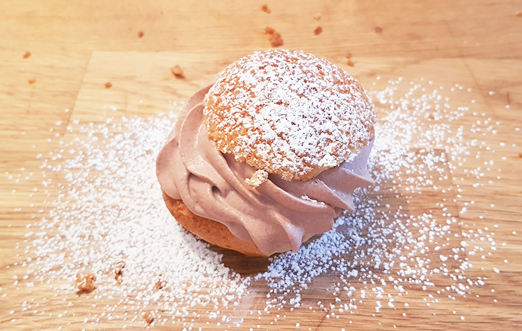 Choux chantilly cacao