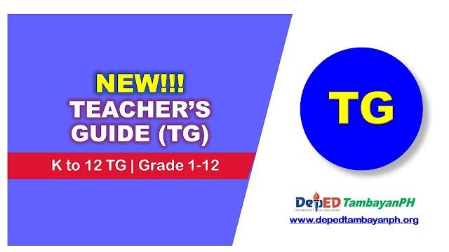 Teachers Guide (TG) | Grade 1-12