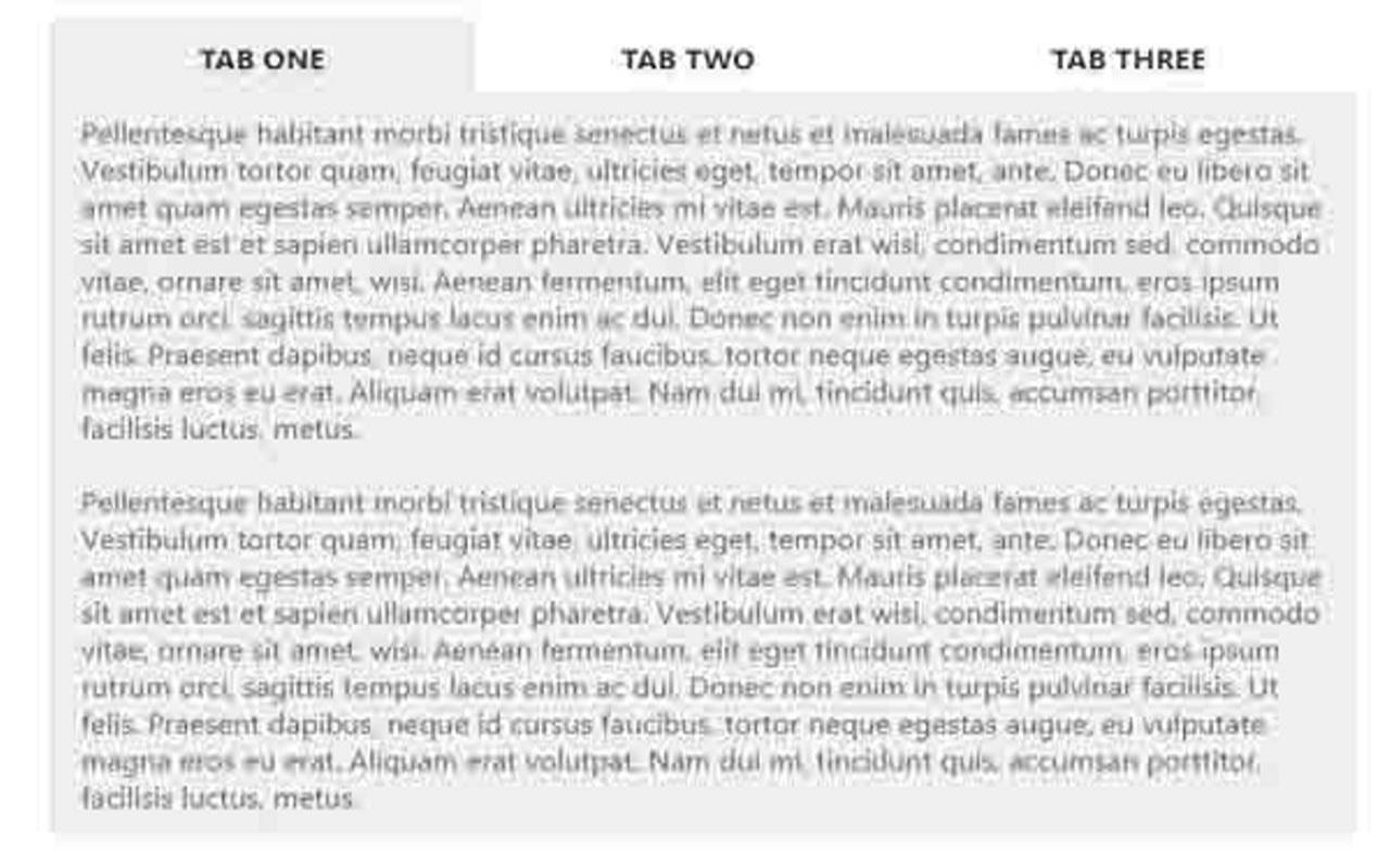 Cara Membuat Tab Panel di dalam Postingan Blog Valid AMP
