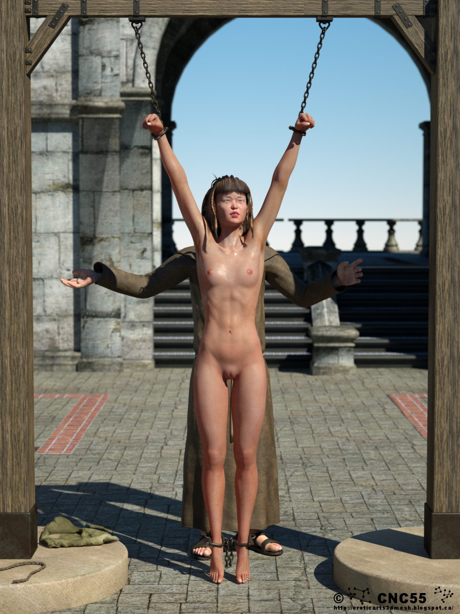 Erotic arts 3D mesh: The Inquisition chronicle, #02