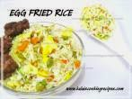 Simple EggFried Rice