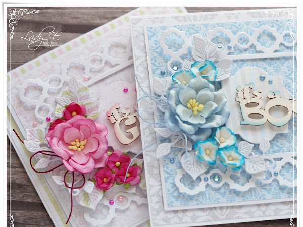 New Baby Cards - Wild Orchid Crafts DT inspiration