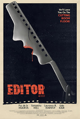 MondoCon 2015 Exclusive The Editor Movie Poster by Ghoulish Gary Pullin