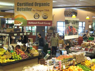 Ashland Food Co-op interior