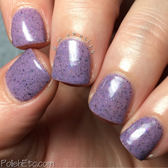 Native War Paints - Purple Reign Collection - McPolish - Purple Pachyderms and Rainbows