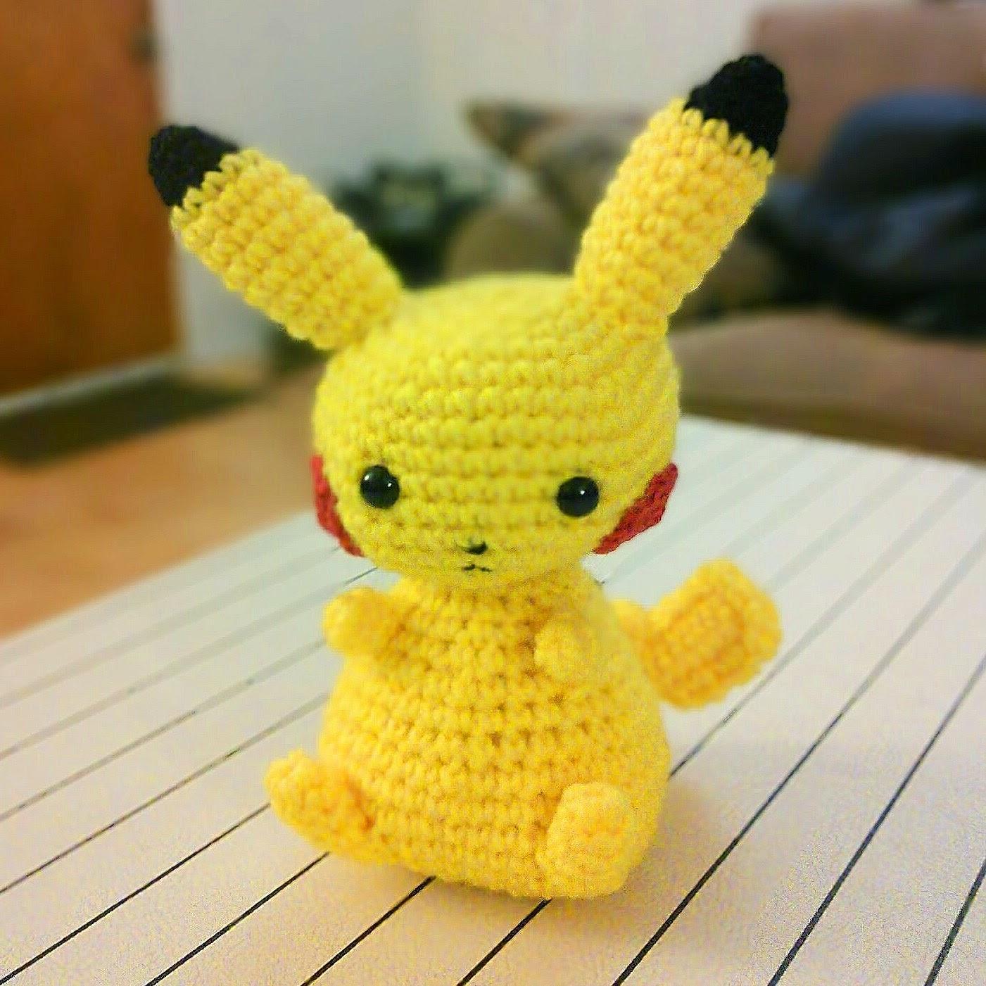 Forgotten Fox: Another Pikachu Pattern