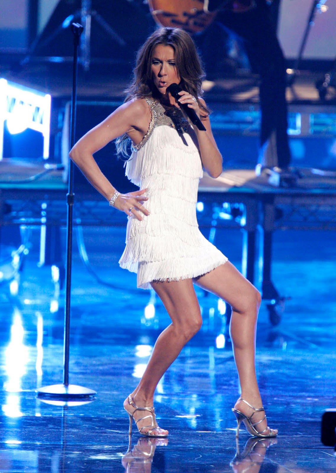 Her Calves Muscle Legs: Celine Dion`s calves