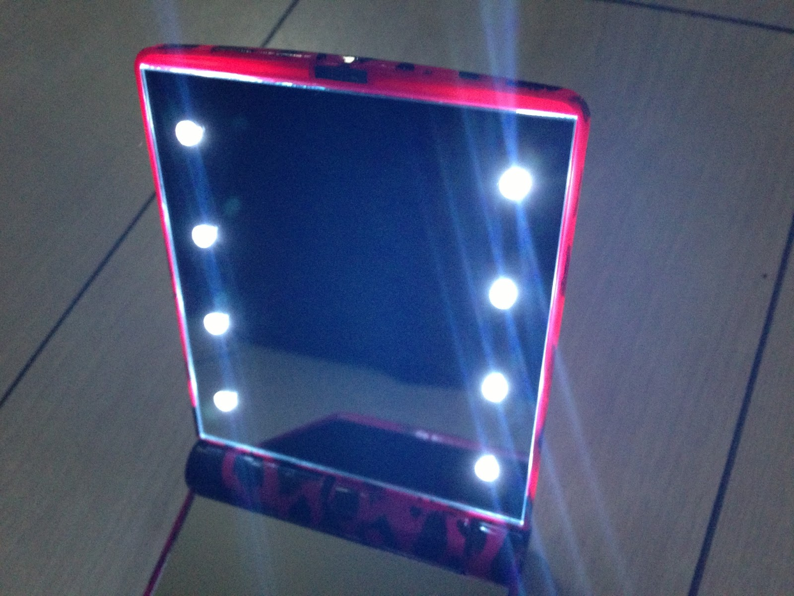 NEW  Famous Light Up Mirror  A Slice of my Life Wales