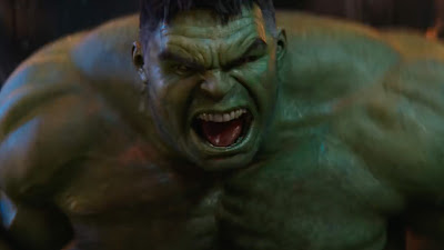 Hulk does not come out because he is ashamed