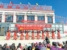 China celebrates its Republic day in Minsar, the Indian village in Tibet