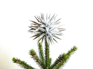 kissa design christmas tree topper minimalist