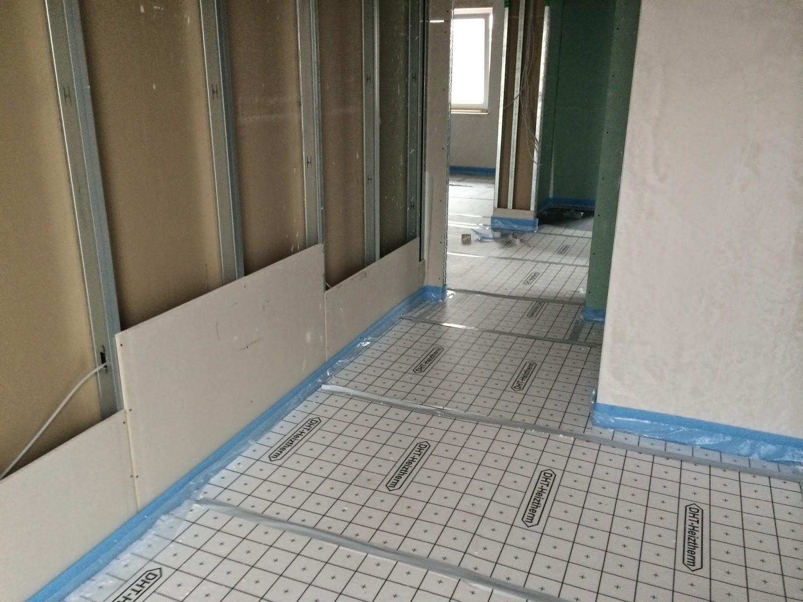 lichthaus152 in weilerswists d die fu bodenheizung kommt. Black Bedroom Furniture Sets. Home Design Ideas