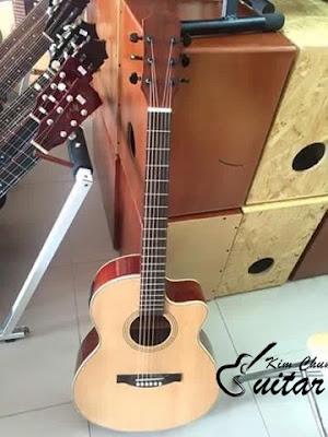 Bán Đàn Guitar Acoustic Hồng Đào EQ Giá 1 Triệu 6