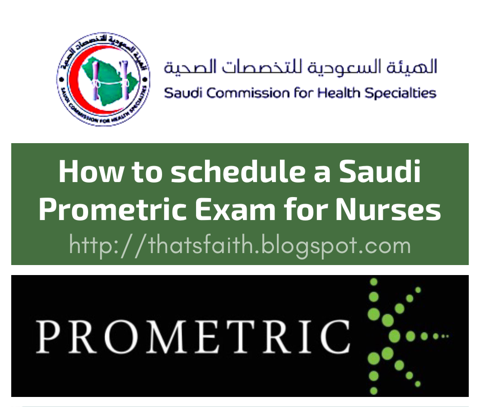 How to book for a Saudi Prometric Exam for Nurses