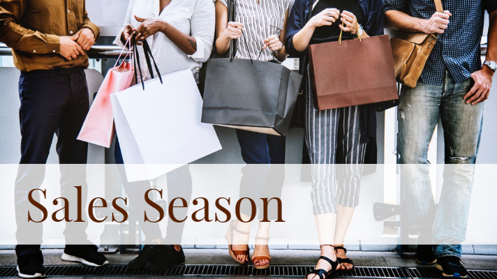 the best sales and promotions during sales season