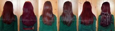 przyrost włosów aniamaluje marzec 2012