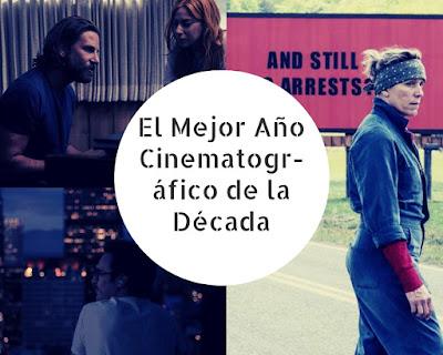 El Mejor Año Cinematográfico de la Década