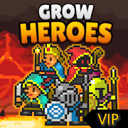 Grow Heroes Vip : Idle RPG Infinite (Gold - Gems) MOD APK