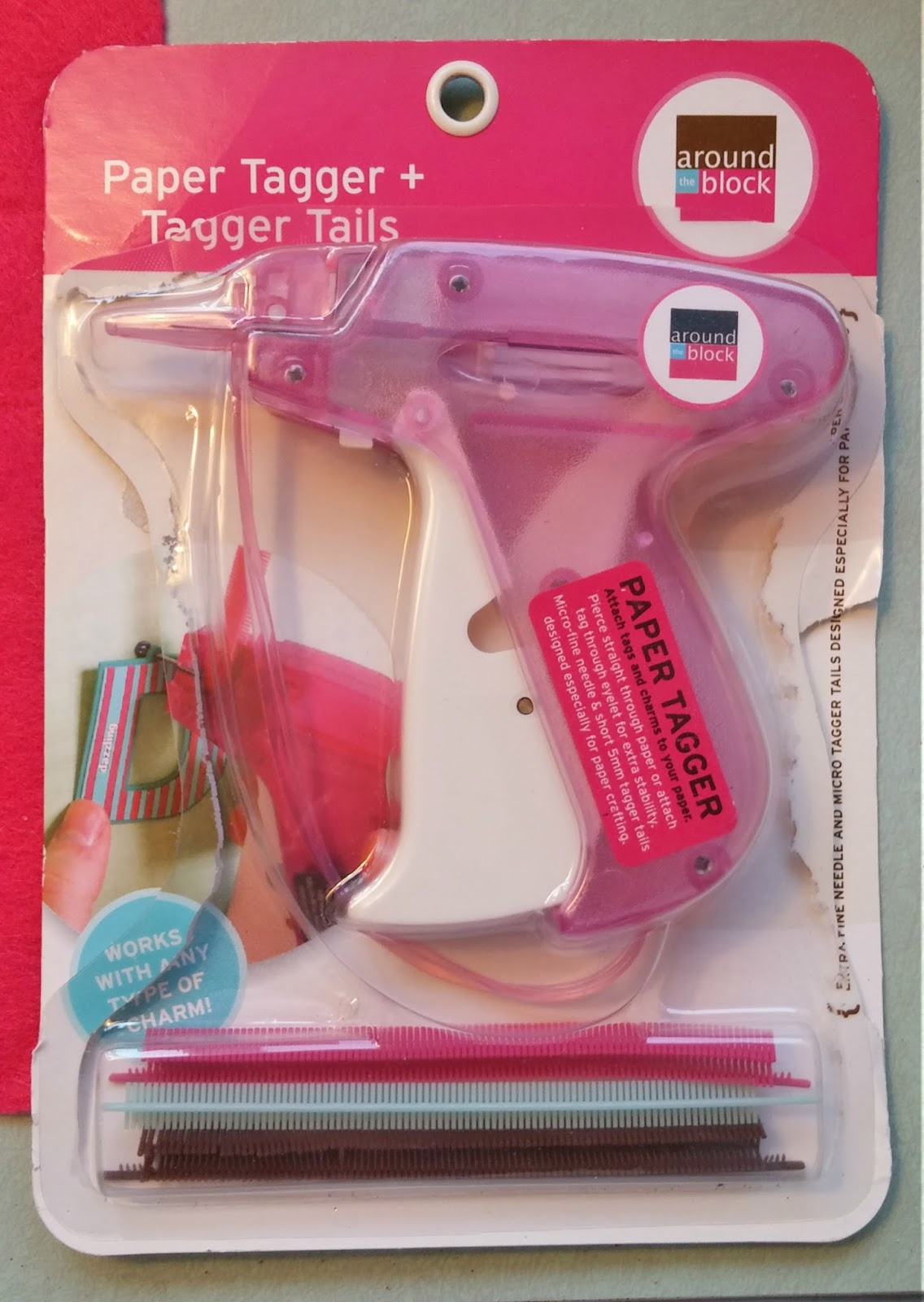 paper tagger scrapbooking tool