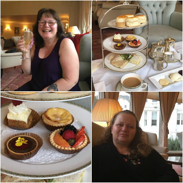 Afternoon tea at the Grand Hotel Eastbourne