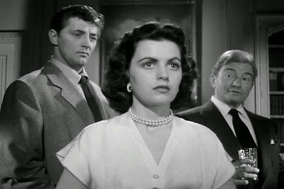 Robert Mitchum, Faith Domergue, Claude Rains Where Danger Lives (1950)