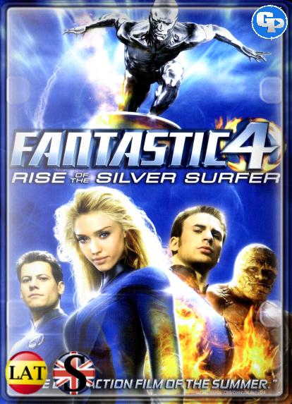 Los 4 fantásticos y Silver Surfer (2007) HD 1080P LATINO/INGLES