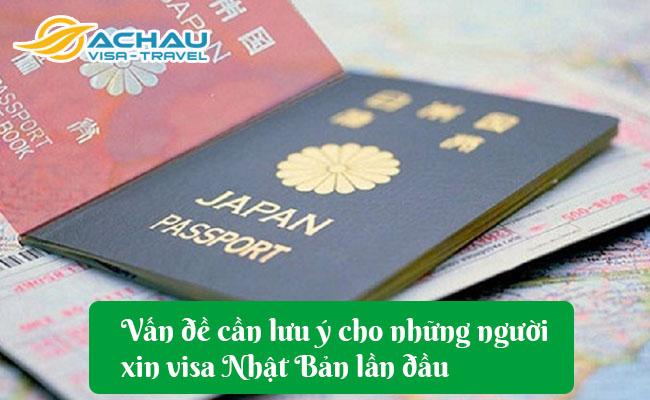 van de can luu y cho nhung nguoi xin visa nhat ban lan dau