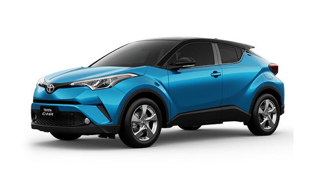 Harga Toyota C-HR Terbaru Semua tipe