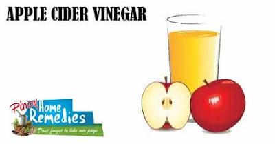 Home Remedies For Foot Tendonitis: Apple Cider Vinegar