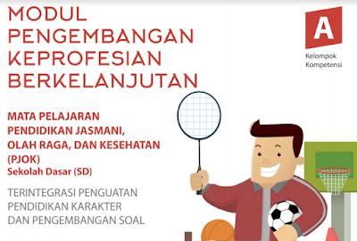 Download Modul PKB Guru PJOK SD 2017 Kompetensi Pedagogik/ Profesional