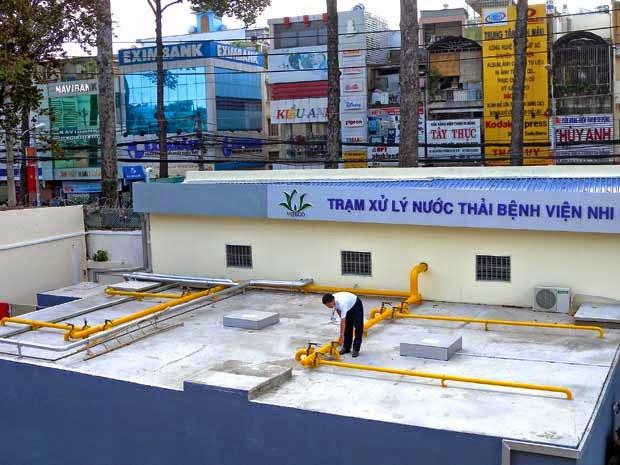 Xử lý nước thải công nghiệp tại Thanh Hóa