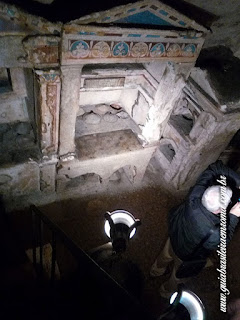 guia De Roma colombario pomponius hylas - O Colombário de Pomponius Hylas