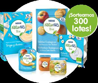 Sortean 300 lotes de Nestlé Naturnes Bio para bebés
