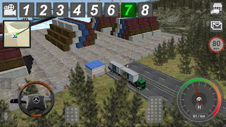 GBD Mercedes Truck Simulator Apk v4.35 (Mod Money)